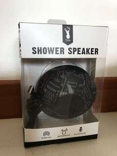 Typo shower speaker