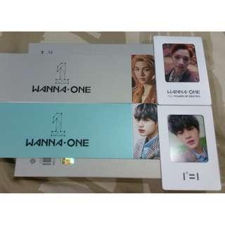(WTT/WTS) Wanna One Lee Dae Hwi (Daehwi) / Lai Kuan Lin (KuanLin) - Power of Destiny Photocard / Sleeve