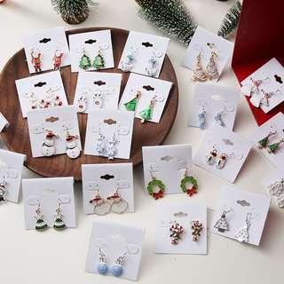 聖誕節耳環合集
