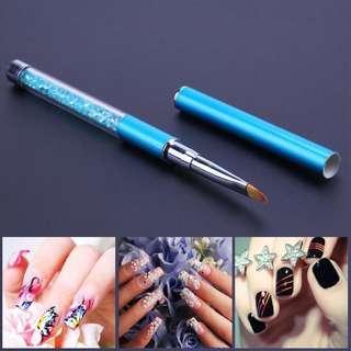 🚚 Blue Crystal Gel Brush