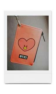 BT21 TATA  CARD HOLDER
