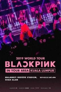 TICKETING SERVICE FOR BLACKPINK IN MALAYSIA