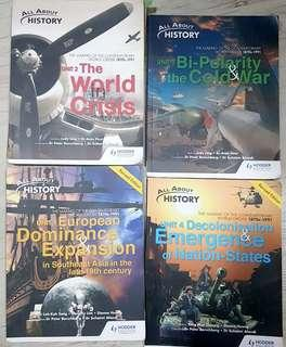 ELECT AND PURE HISTORY TEXTBOOKS