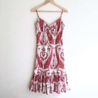 Ladakh Paisley Print Dress