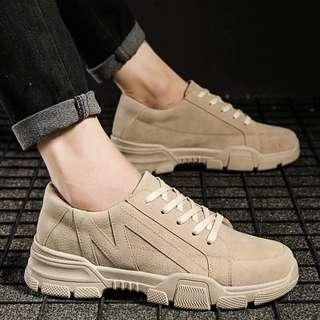 Men's Korean Style Lace Up Sneakers 👟 Shoes ( Hot Selling )