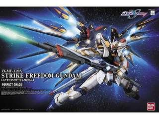 PG Strike Freedom Gundam 1/60 Perfect Grade Kit Box
