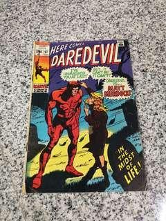 🔑 Daredevil # 57 minor key