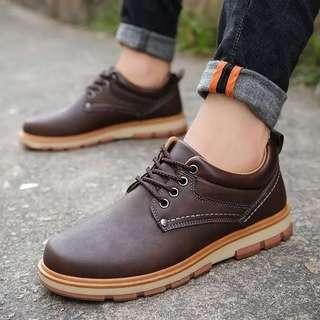 Men's Fashion Style Lace Up Boots / Sneakers
