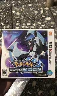 Kaset 3DS Pokemon Ultra Moon