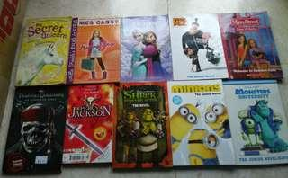 Children's Books, Junior Novels