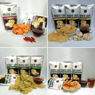 TERMURAH!!!! TERENAK!!!! Snack kekinian keripik kentang jaman now grab it fast