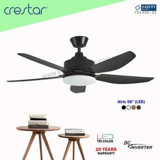 "Crestar Airis 5BL 56"" with LED (DC Inverter Fan)"