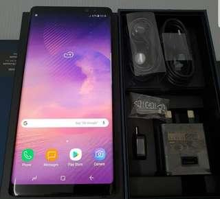 Mint condition Samsung Note 8 64gb/6gb RAM