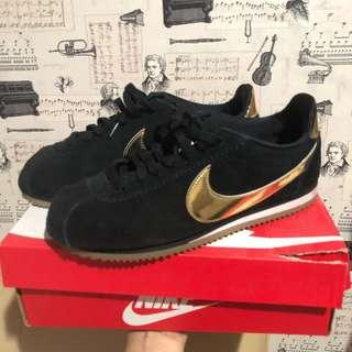 For sale nike cortez black gold