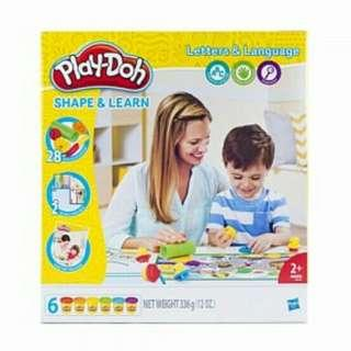 Brand New Playdoh Shape & Learn Letters & Language [UP: $39.90]