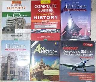 O LEVEL HISTORY GUIDEBOOKS