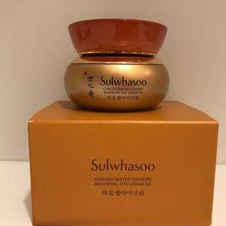 雪花秀 滋陰生人參 眼霜 Sulwhasoo Concentrated Ginseng Renewing Cream EX 20ml