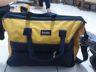 Bebelac travel bag/ tas untuk bawa perlengkapan bayi