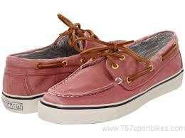 Bahama Red Sperry Canvas