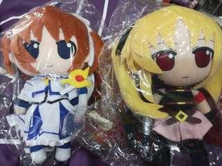 Gift Nendoroid Plus Plushie Series Magical Girl Lyrical Nanoha The Movie 1st Takamachi Nanoha Fate Testarossa