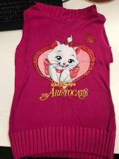 🈹️Walt Disney The Aristocats 富貴貓粉紅色線衫