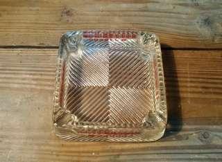🚚 「精美西服」玻璃煙灰缸—古物舊貨、早期生活道具收藏