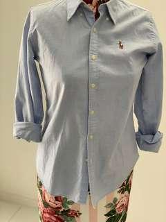 Authentic Ralph Lauren slim fit shirt