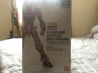 MG Astray Red Frame Clear Plated Frame Art Of Gundam