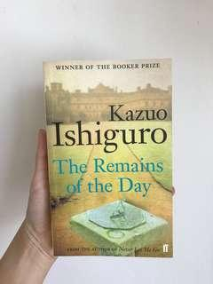 Kazuo Ishiguro | The Remains of the Day