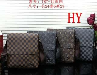 In-Stock Unisex LV Sling Bag(Model - 187)