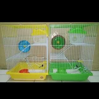Kandang hamster 3 tingkat