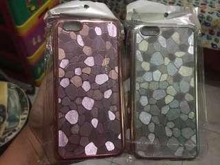 Case Stone Chrome + pelindung kamera Iphone 6
