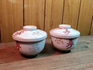 永豐磁器:白瓷「壽」字杯—古物舊貨、早期台灣老碗盤收藏