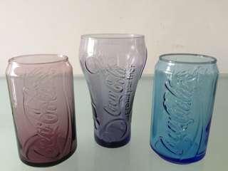 Coke cola glass