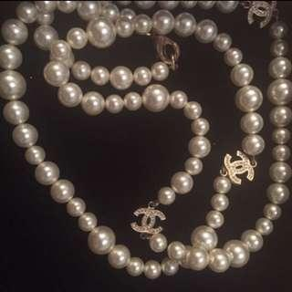 Chanel Pearl Necklace #sellfaster