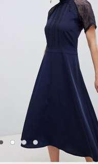 Asos 藍色晚裝