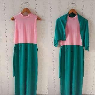 Dress/Gamis Kaos Adem