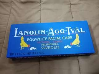 Victoria Lanolin Agg -Tval Egg White Facial Care Soap for Women ( Sold separately)