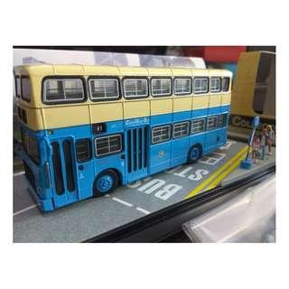 全新中巴利蘭勝利二型(Lv1)41號線巴士連乘客及車長公仔