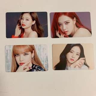 BLACKPINK Photocard Set