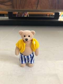 Authentic collectible McD bear