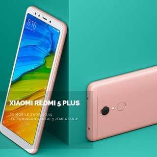 Kredit Tanpa Cc Xiaomi Redmi 5 Plus 3/32GB Bunga 0%