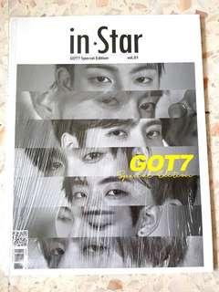 [WTS] inStar (GOT7 Special Edition) Magazine