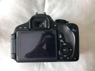 Canon 600D body with 18-55 lens