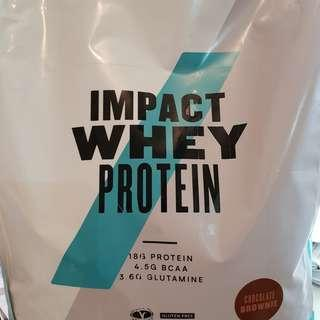 My Protein Impact Whey Protein Chocolate Brownie