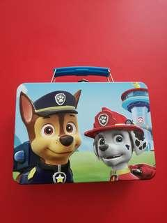 Brand new Paw Patrol Metal Carrying Case