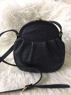 JRA ostrich leather bag