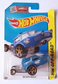 NEW: Collectibles Hot Wheels Puppa Wheelie