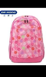 Brand new Authentic Ergonomic Dr Kong M Size Pink School Bag