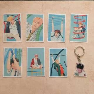 [CLEARANCE] BTS Love Yourself: Answer Lomocards / Photocards / PCs PC + Jin Keychain Keyring